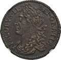 Ireland, Ireland: James II Gun Money Coinage 1/2 Crown December 1689 AU58 NGC,...