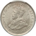 British West Africa, British West Africa: British Colony. George V 6 Pence 1920-H MS64PCGS,...