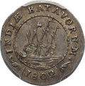 Netherlands East Indies, Netherlands East Indies: Batavian Republic 1/8 Gulden 1802MS62 PCGS,...