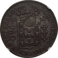 Azores, Azores: Portuguese Colony Counterstamped 1200 Reis ND (1887) AU55NGC,...