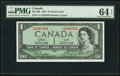 Canadian Currency: , BC-29b $1 1954 Devil's Face.. ...
