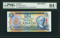 Canadian Currency, BC-53aS $5 1979 Specimen.. ...