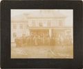 Baseball Collectibles:Photos, 1911 Baseball Players Cabinet Photograph with Honus Wagner, CyYoung....