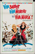"""Movie Posters:Adventure, Viva Maria! & Other Lot (United Artists, 1966). One Sheets (2)(27"""" X 41""""). Adventure.. ... (Total: 2 Items)"""