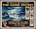 "Movie Posters:War, The Caine Mutiny (Columbia, 1954). Half Sheet (22"" X 28"") Style B.War.. ..."