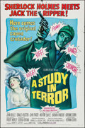 """Movie Posters:Crime, A Study in Terror (Columbia, 1966). One Sheet (27"""" X 41""""), LobbyCards (7) (11"""" X 14""""), & Uncut Pressbook (8 Pages, 11"""" X 17...(Total: 8 Items)"""