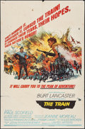 "Movie Posters:War, The Train & Others (United Artists, 1965). One Sheets (2) (27""X 41""). Style B. War.. ... (Total: 2 Items)"