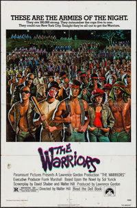 """The Warriors (Paramount, 1979). One Sheet (27"""" X 41""""). Action"""