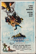 """Movie Posters:Science Fiction, Mysterious Island (Columbia, 1961). One Sheet (27"""" X 41""""), LobbyCards (3) (11"""" X 14""""), & Uncut Pressbook (8 Pages, 13.75"""" X...(Total: 5 Items)"""
