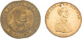 Political:Tokens & Medals, Abraham Lincoln: Pair of Tokens.... (Total: 2 Items)