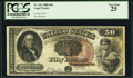 Large Size:Legal Tender Notes, Fr. 161 $50 1880 Legal Tender PCGS Very Fine 25.. ...