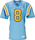 Football Collectibles:Uniforms, 1988 Troy Aikman Game Worn UCLA Bruins Jersey....