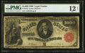 Large Size:Legal Tender Notes, Fr. 187j $1,000 1880 Legal Tender PMG Fine 12 Net.. ...