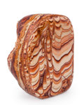 Lapidary Art:Carvings, Wave Dolomite. Mexico. 4.03 x 3.01 x 2.22 inches (10.24 x 7.65 x5.63 cm). ...