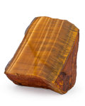 Lapidary Art:Carvings, Tiger's Eye. South Africa. 3.83 x 2.91 x 2.57 inches (9.73 x7.39 x 6.52 cm). ...