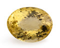 Gems:Faceted, Gemstone: Citrine - 38.5 Cts.. Brazil. 24.8 x 19.25 x 15.1mm. ...