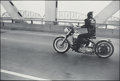 Photographs, Danny Lyon (American, b. 1942). Crossing the Ohio, Louisville, 1966. Gelatin silver, 2005. 12-1/2 x 18-3/4 inches (31.8 ...