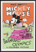 "Movie Posters:Animated, Barnyard Olympics (Circle Fine Art, 1980s). Fine Art Serigraph (21"" X 30.75""). Animated. ..."