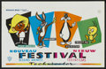 "Movie Posters:Animated, Warner Brothers Cartoon Festival (Warner Brothers, mid-1960s).Belgian (14.2"" X 21.5""). Animated. ..."