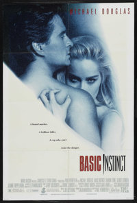 "Basic Instinct (Tri Star Pictures, 1992). One Sheet (27"" X 41""). Thriller"