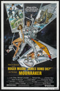 "Movie Posters:James Bond, Moonraker (United Artists, 1979). International One Sheet (27"" X41"") Style B. James Bond. ..."