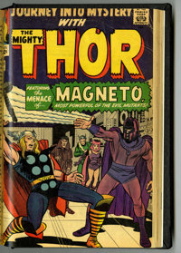 Journey Into Mystery #93-111 Partial Issues Bound Volume (Marvel, 1963-64)