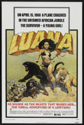 "Movie Posters:Adventure, Luana (Capital Productions, 1973). One Sheet (27"" X 41"").Adventure. ..."