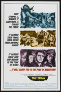 """Movie Posters:War, The Train (United Artists, 1965). One Sheet (27"""" X 41"""") Style A.War. ..."""