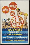 "Movie Posters:Rock and Roll, Beach Ball (Paramount, 1965). One Sheet (27"" X 41""). Comedy. ..."