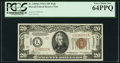 Small Size:World War II Emergency Notes, Fr. 2305 $20 1934A Mule Hawaii Federal Reserve Note. PCGS Very Choice New 64PPQ.. ...