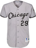 Baseball Collectibles:Uniforms, 1992 Jack McDowell Game Worn Chicago White Sox Jersey. ...