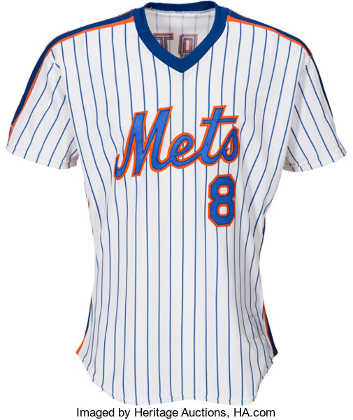best sneakers 645a9 12be5 1989 Gary Carter Game Worn New York Mets Jersey & 1987 Game ...