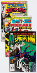 Bronze Age (1970-1979):Superhero, Spider-Man Related Box Lot (Marvel, 1970s-80s) Condition: Average FN/VF....