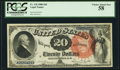 Fr. 136 $20 1880 Legal Tender PCGS Choice About New 58