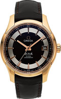 "Timepieces:Wristwatch, Omega Rose Gold ""Hour Vision"" De Ville Co-Axial Chronometer. ..."