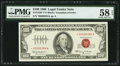 Small Size:Legal Tender Notes, Fr. 1550* $100 1966 Legal Tender Note. PMG Choice About Unc 58 EPQ.. ...