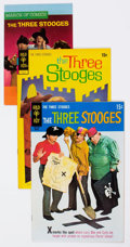 Silver Age (1956-1969):Humor, Three Stooges Related Group of 6 (Gold Key, 1960s-70s) Condition: Average VF/NM.... (Total: 6 Items)