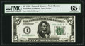 Small Size:Federal Reserve Notes, Fr. 1950-A $5 1928 Federal Reserve Note. PMG Gem Uncirculated 65 EPQ.. ...