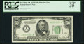 Small Size:Federal Reserve Notes, Fr. 2106-A* $50 1934D Mule Federal Reserve Note. PCGS Very Fine 35.. ...