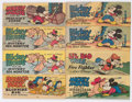 Premiums:Comic, Walt Disney Wheaties Promotionals Group of 13 (Walt DisneyProductions, 1950-51) Condition: Average FN.... (Total: 13 ComicBooks)