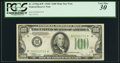 Fr. 2155-H* $100 1934C Federal Reserve Note. PCGS Very Fine 30