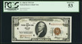 Fr. 1860-K $10 1929 Federal Reserve Bank Note. PCGS About New 53