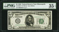 Fr. 1950-I* $5 1928 Federal Reserve Note. PMG Choice Very Fine 35 EPQ