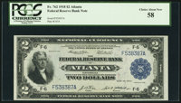 Fr. 762 $2 1918 Federal Reserve Bank Note PCGS Choice About New 58