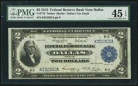 Fr. 776 $2 1918 Federal Reserve Bank Note PMG Choice Extremely Fine 45 EPQ