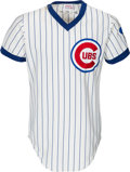 Baseball Collectibles:Uniforms, 1974 Ernie Banks Game Worn Chicago Cubs Coach's Jersey. ...