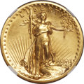 Proof High Relief Double Eagles, 1907 $20 High Relief PR67+ ★ NGC....