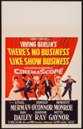"""Movie Posters:Musical, There's No Business Like Show Business (20th Century Fox, 1954). Window Card (14"""" X 22""""). Musical.. ..."""