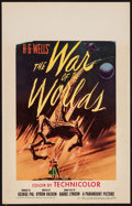 """Movie Posters:Science Fiction, The War of the Worlds (Paramount, 1953). Window Card (14"""" X 22"""").Science Fiction.. ..."""