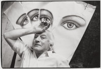 Ira Cohen (American, 1935-2011) Robert LaVigne, early 1980s Gelatin silver 4-3/4 x 7 inches (12.1